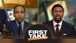 Stephen A. Smith and Jalen Rose have heated debate about Rockets vs. Warriors | First Take | ESPN - Video Youtube