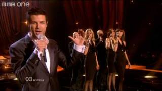 "Norway ""My Heart Is Yours"" - Eurovision Song Contest 2010 Final - BBC One"