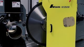 AMSAW 350S: Standard Saw For Tube Cutting