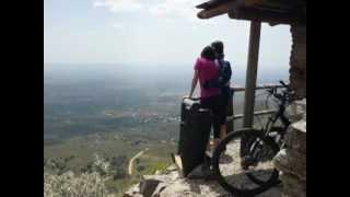 preview picture of video 'En bici al mirador del Filo - Merlo - San Luis.'