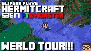 HermitCraft FTB Monster - Walrus World Tour!!! ( Minecraft Feed The Beast Let's Play ) S3E17