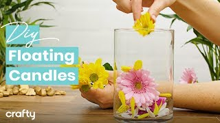 DIY Floating Candles That Are Totally Lit