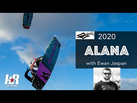 2020 Naish Alana Kiteboard with Ewan Jaspan