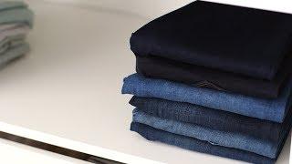 Cara Melipat Jeans ala Martha Stewart