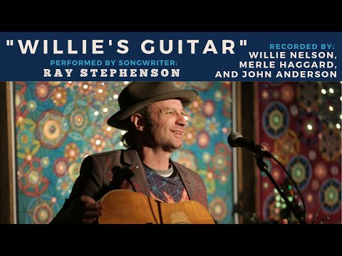"Ray Stephenson Performs ""Willie's Guitar"" at Backstage Nashville!"