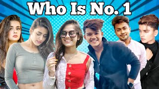 Top 10 tik tok stars in India 2020 | Mr Faisu, jannat zubair, Riyaz, Garima Chaurasia | Noob Tuber - Download this Video in MP3, M4A, WEBM, MP4, 3GP