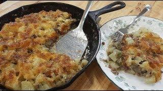 Hamburger Casserole - 100 Year Old Recipe - (Re-Dux) - The Hillbilly Kitchen