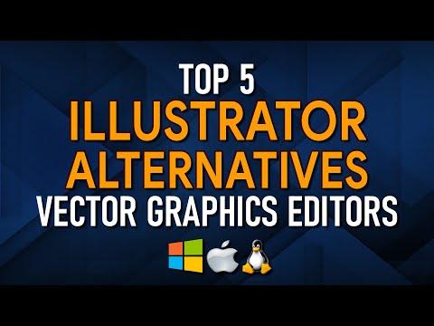 Top 5 Best FREE ILLUSTRATOR Alternatives