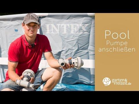 ▶ Pool Pumpe anschließen | Garten-und-Freizeit.de