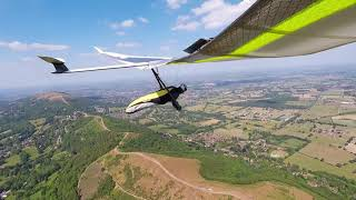 Atos VR+ At The Malverns, Steve Young Hang Gliding