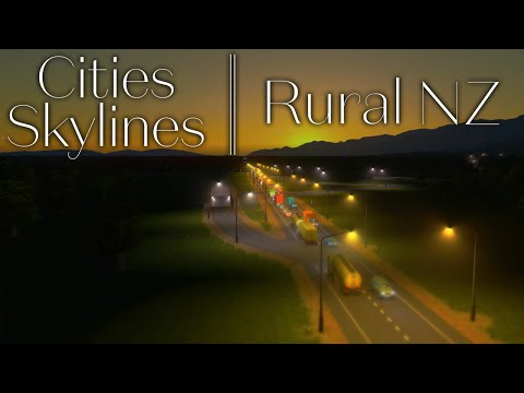 , title : 'Rural New Zealand | Cities Skylines | Ep1