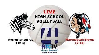 Rochester Volleyball vs Maconaquah