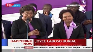 Governor Ngilu humble appeal to women leadership in Joyce Laboso's final send-off
