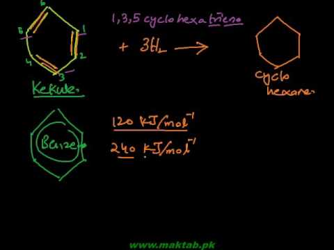 FSc Chemistry Book2, CH 9, LEC 5: The Stability of Benzene (Part 3)