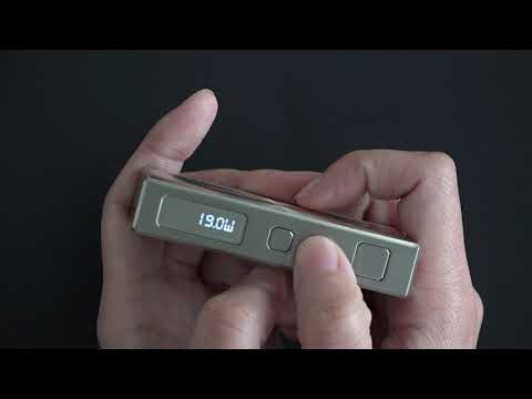 Батарейный мод Eleaf Basal в комплекте с GS Basal - видео 1