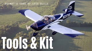Vans RV-12is Aircraft Build | Tools and Kit You'll Need
