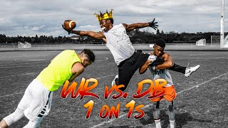 KING OF THE FIELD! WR VS DB 1ON1'S (ANKLES WERE TOOK)