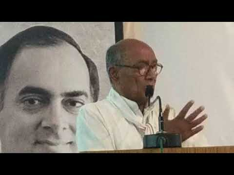 Former CM Digvijay Singh said that for Eight Consecutive Times BJP has been given an 'Opportunity'