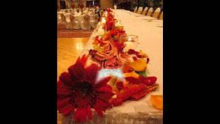 Stunning Autumn Wedding Decoration Ideas