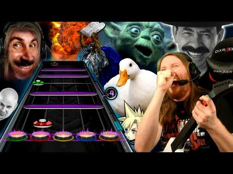 "Guitar Hero Streamer Plays System of a Dong - ""Bee Why Oh Bee"""