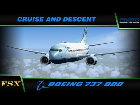 PMDG 737 NGX:  6. Cruise and Descent