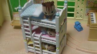 실바니안 패밀리 침대 장난감 Sylvanian Families Bed Toys