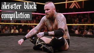 [WWE] Aleister Black-Knee Strike & Black Mass Compilation