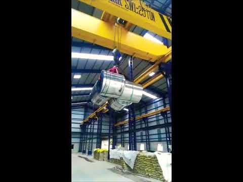 25 Ton Double Girder EOT Crane