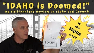 The Mania Over Californians Moving To Idaho And Population Growth