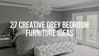 🔴 27 Creative GREY BEDROOM FURNITURE Ideas