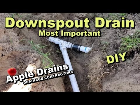 Downspout Drain, French Drain. Why this pipe is so important for DIY mp3 yukle - mp3.DINAMIK.az