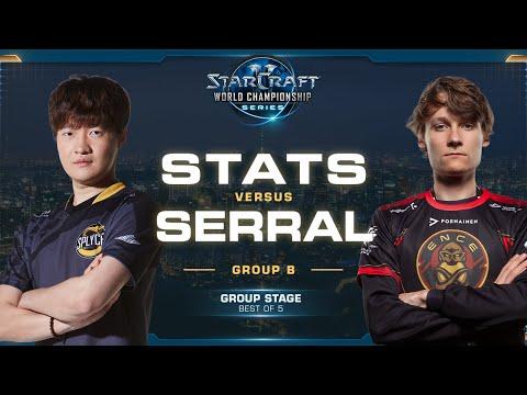 Stats vs Serral PvZ - Group B - 2019 WCS Global Finals - StarCraft II