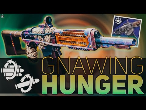 Destiny 2 | Gnawing Hunger Review (Auto Rifle Review)