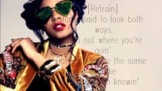 BURN BREAK CRASH lyric - Aanysa x snakehips