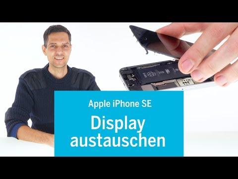 iPhone SE - Display wechseln / Display Reparatur (screen repair) (EN subs) iPhone Reparatur