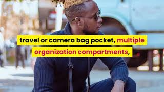 Premium Leather Crossbody Bags For Men Mens Messenger Bag Black