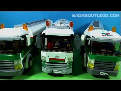 Vidéo LEGO City 60016 : Le camion-citerne