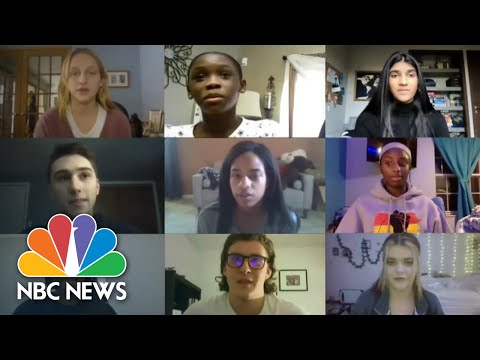Students Share Struggles Of Online Learning: 'I Have Never Felt So Much Stress' | NBC News NOW