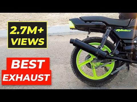 Best Exhaust For My Splendor!! e bike | motogp | bike race | bike stunt | bike rack | stunt bike