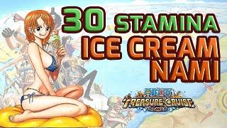 Walkthrough for Ice Cream Nami 30 Stamina [One Piece Treasure Cruise]