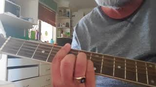SHE'S GONE - Bob Marley and the Wailers, Lefthand acoustic guitar lesson. Aaron Paterson.