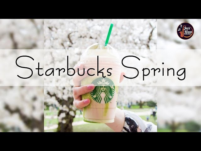 Starbucks Spring Jazz 2020 - Background Rain Spring - Relax Music for Wake Up, Work, Study