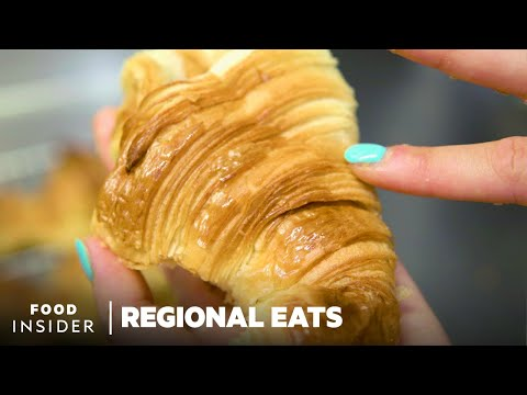 Making Croissants in France