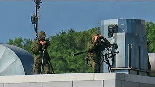 Как работают снайперы на Formula1 в Сочи