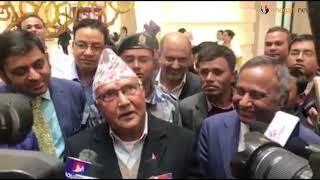 प्रश्न राजनीतिक ओलीको जवाफ अर्कै (भिडियो)