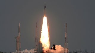 video: India launches Chandrayaan spacecraft in bid to become fourth country on the Moon