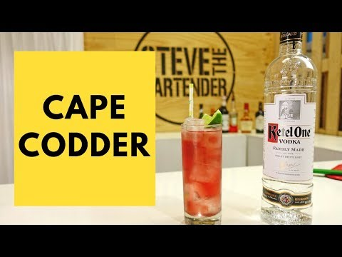 80s Cocktails – Cape Codder Drink Recipe