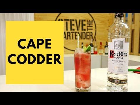 80s Cocktails – Cape Codder Drink Recipe