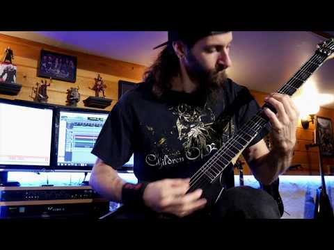 "Dan Capeau - Children of Bodom - ""Northpole Throwdown"" Guitar Cover"