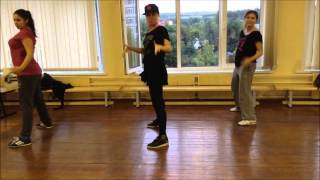 "Hip-hop dance choreography Angel Haze ""Gossip Folks"""